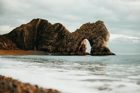Photograph of the Dorset coast