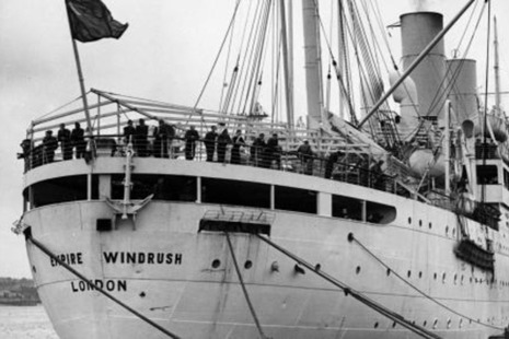 An image relating to Windrush.