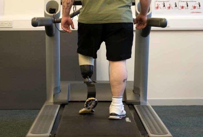 Injured serviceman