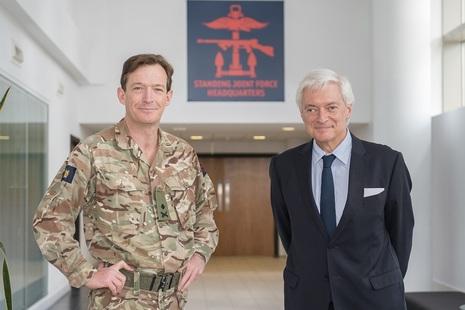 Norwegian Ambassador and Standing Joint Force Commander