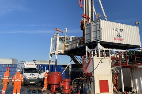 Borehole sealing project rig