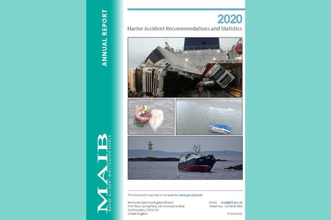MAIB Annual Report 2020 cover image