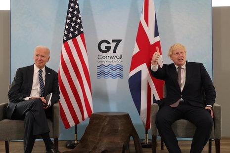 US President Joe Biden and Prime Minister Boris Johnson