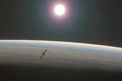 Artist impression of EnVision, a mission to Venus
