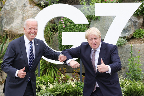President Biden and PM Boris Johnson