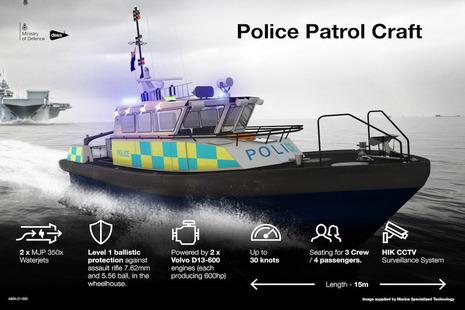 MOD Police Patrol Craft