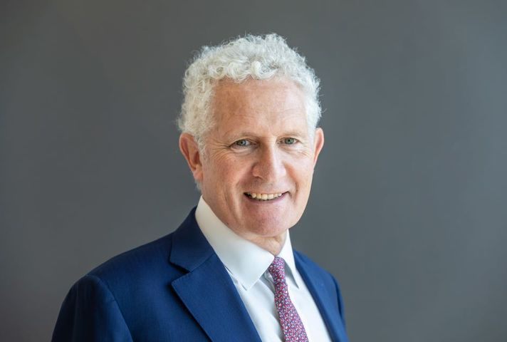 Peter Freeman, Chair of Homes England, smiling