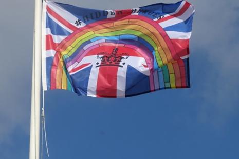 Hidden Heroes flag