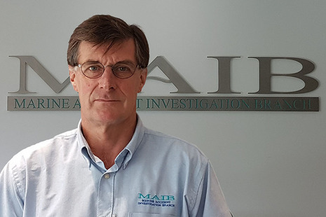 MAIB Chief Inspector - Andrew Moll