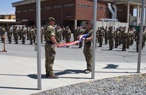 Operation TORAL draws to an end as UK transitions to new phase of support to Afghanistan