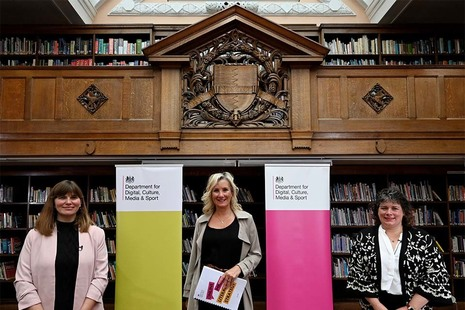 Minister for Digital Caroline Dinenage at the launch of the Media Literacy Strategy