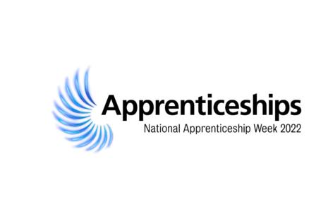 National Apprenticeship Week 2022 logo.