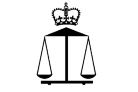 Government Chemist logo, balance and scales