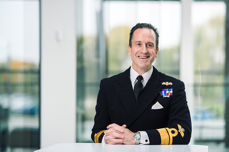 Rear Admiral Rhett Hatcher