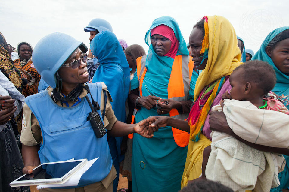 Consolidating progress on peace and security in Darfur