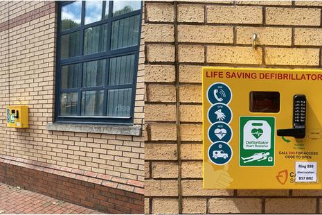 GFSL team install life saving medical equipment at HMP Bristol