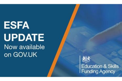 ESFA Update logo.
