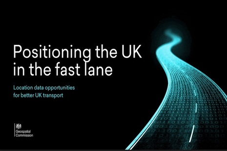 Front cover of Positioning the UK in the fast lane report