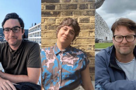 Will Myddleton and Helena Trippe from the GDS Digital Identity team and Tom Stewart of Veterans UK are working together to make access to public services better.