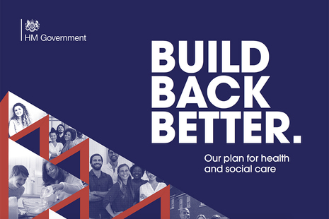 Build Back Better. Our plan for health and social care