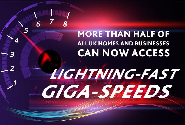 Lightning-fast giga-speeds