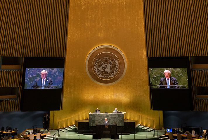 PM addressing UN General Assembly