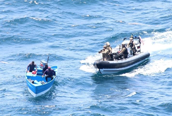 Drug interception at sea