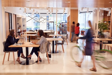 Interior Of Modern Open Plan Office