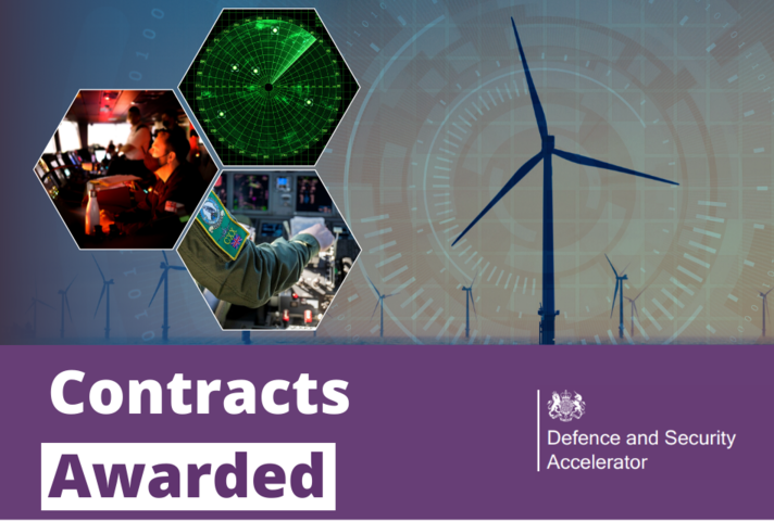 £3.8 million in contracts awarded to mitigate the radar risk of windfarms'
