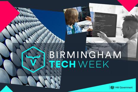 Birmingham tech week graphic - illustrative image