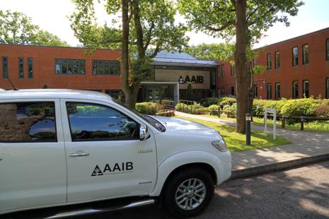 Vehicle outside AAIB