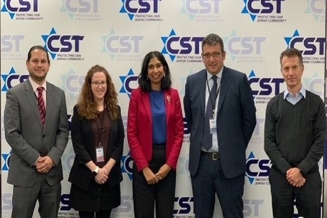 Attorney General visits the Community Security Trust's HQ