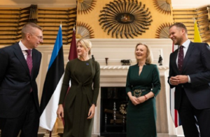 Read 'Foreign Secretary to back Baltic countries to challenge the threat posed by Russia, Belarus and China' article