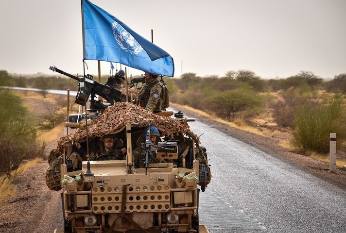 Personnel from the Queen's Dragoon Guards deployed to Mali