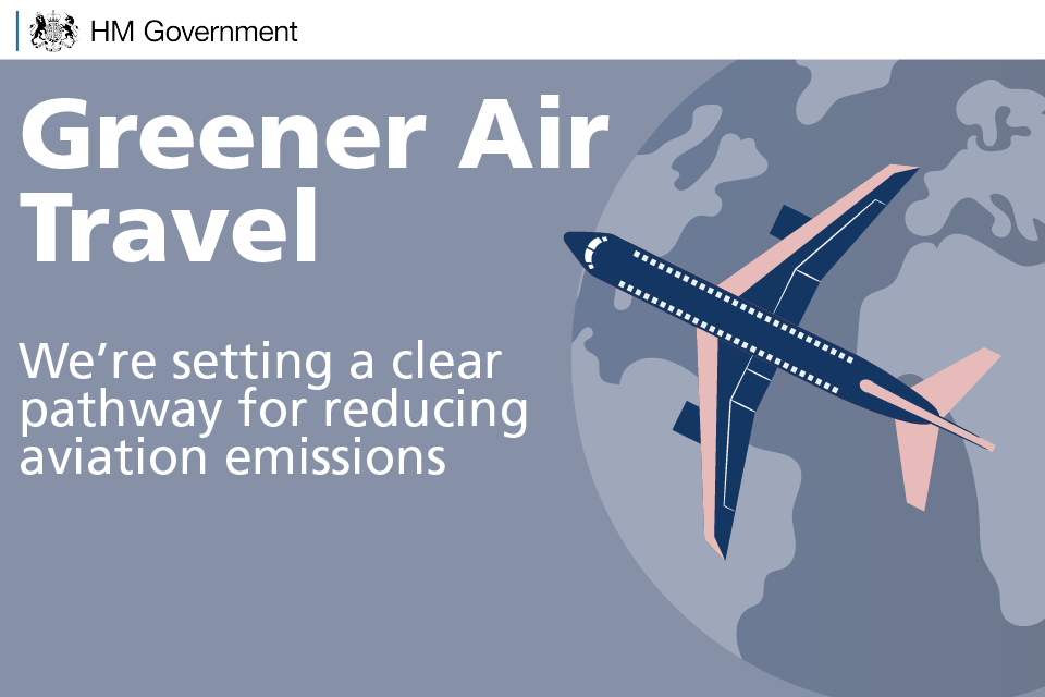 Greener air travel: we're setting a clear pathway for reducing aviation emissions.