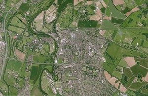 Satellite image of Windsor