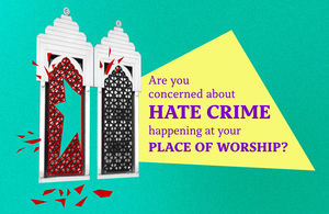 Places of Worship Protective Security Fund open for applications