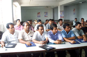 Orientation workshop for garment factory managers and workers