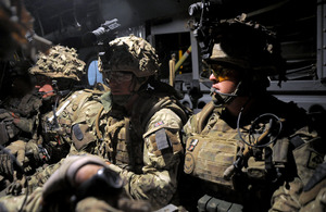 Soldiers deployed on an operation targeting an insurgent stronghold in Afghanistan (stock image) [Picture: Sergeant Andy Reddy RLC, Crown copyright]