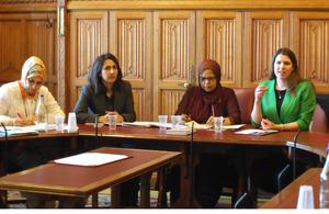 Jo Swinson at Women's Muslim Network AGM