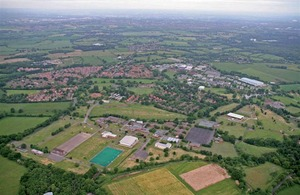 Arborfield Garrison in Berkshire [Picture: Crown copyright]