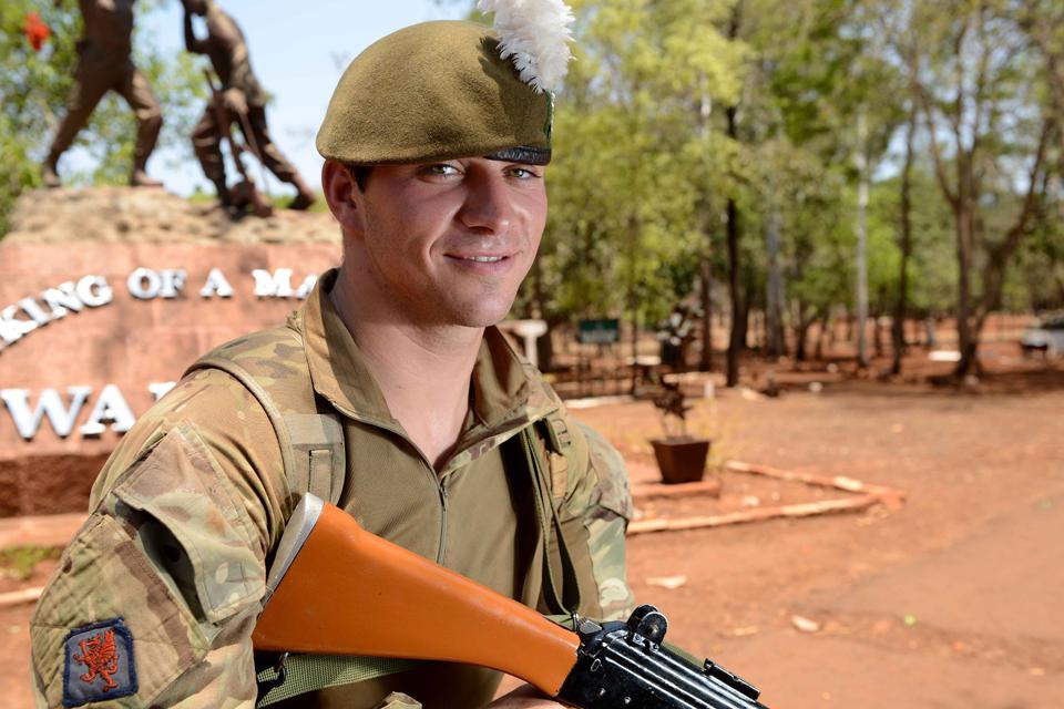 Fusilier Robin Wyn Griffiths