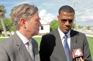 Cabinet meeting update from Turks and Caicos Islands