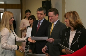 Awarding certificates to interpreters in non-majority languages in Macedonia