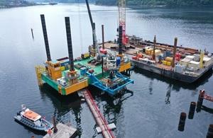 redevelopment of the Glen Mallan jetty.