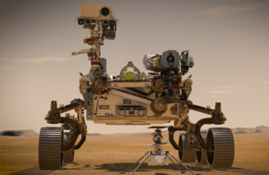 Photo of NASA Perseverance rover