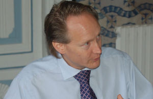 British Ambassador Chris O'Connor