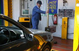 Read the VOSA publish MOT garage contact list article