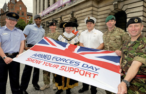 Nottingham will be hosting this year's Armed Forces Day national event [Picture: Crown copyright]
