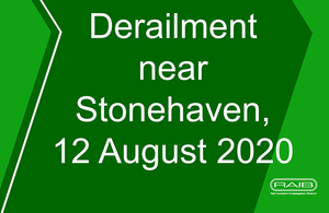 Derailment near Stonehaven, 12 August 2020